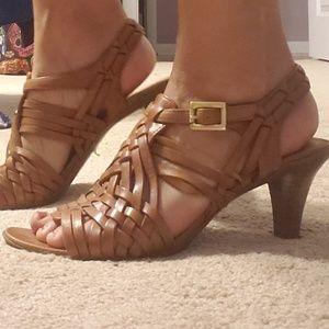 Anne Klein iflex tan sandals